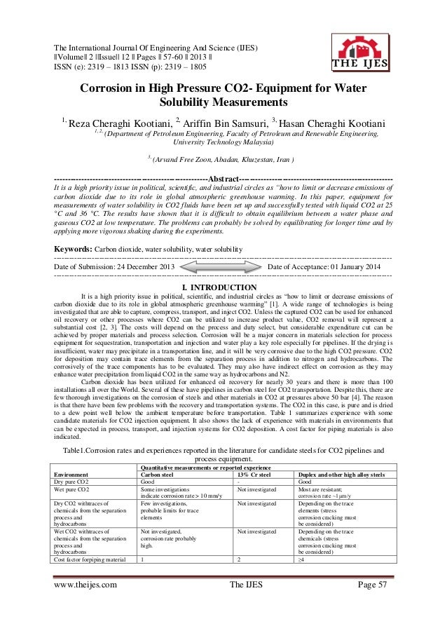 The International Journal Of Engineering And Science (IJES) ||Volume|| 2 ||Issue|| 12 || Pages || 57-60 || 2013 || ISSN (e...
