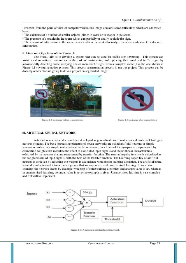 Thesis in artificial neural network