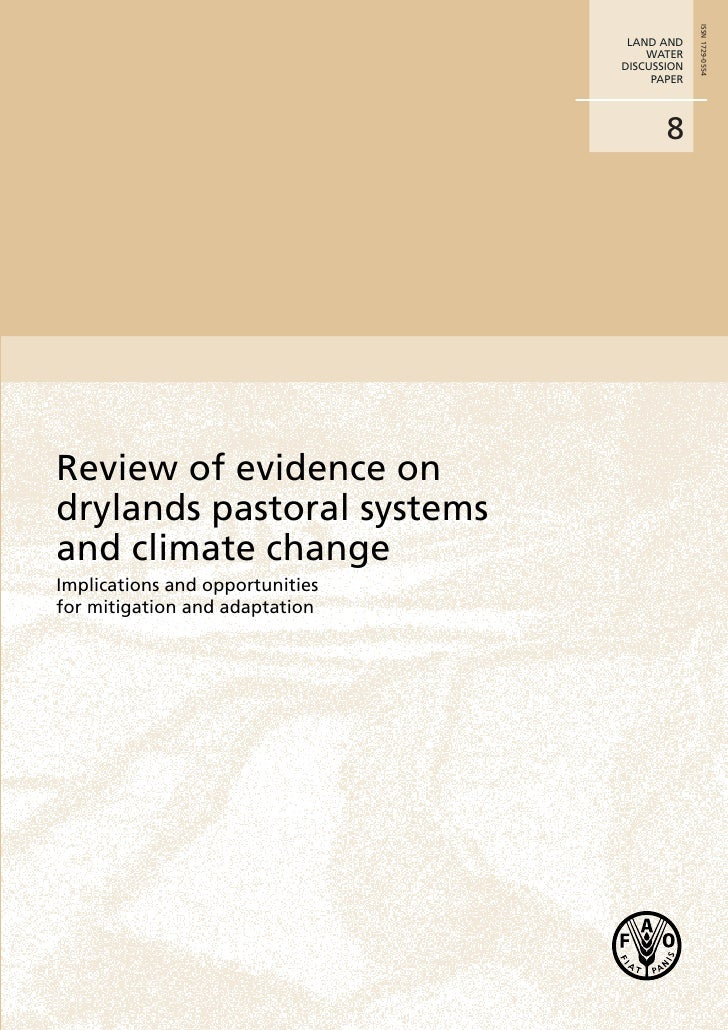 Review of Evidence on Drylands Pastoral Systems and Climate Change