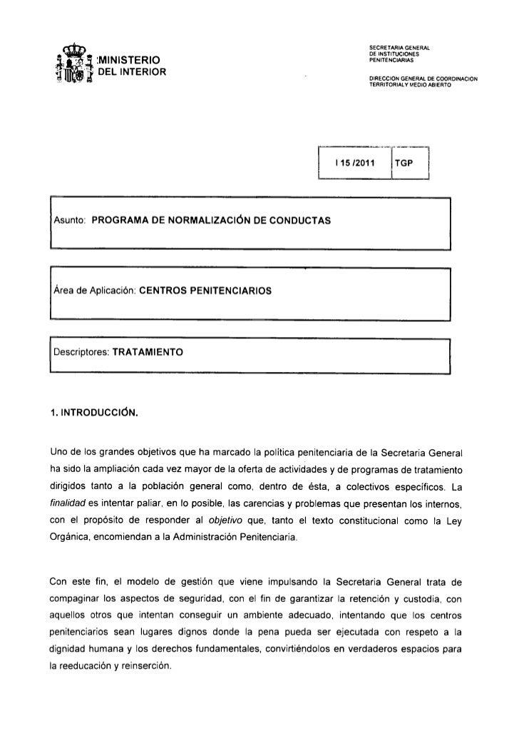 I 15 2011_prog_normalizacion_conducta