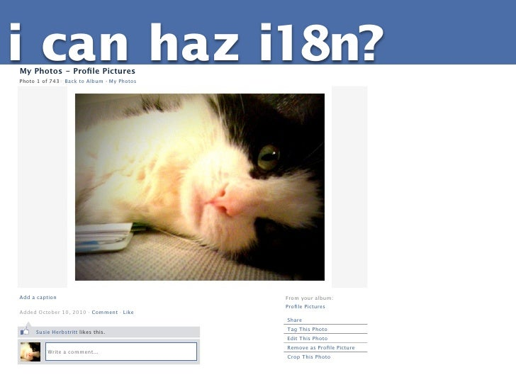 i can haz i18n?My Photos - Profile PicturesPhoto 1 of 743   Back to Album · My PhotosAdd a caption                         ...