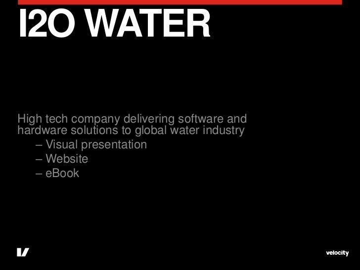 Water company visual