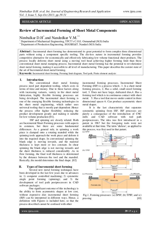 Nimbalkar D.H. et al. Int. Journal of Engineering Research and Application www.ijera.com Vol. 3, Issue 5, Sep-Oct 2013, pp...