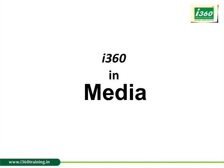 I360 in media