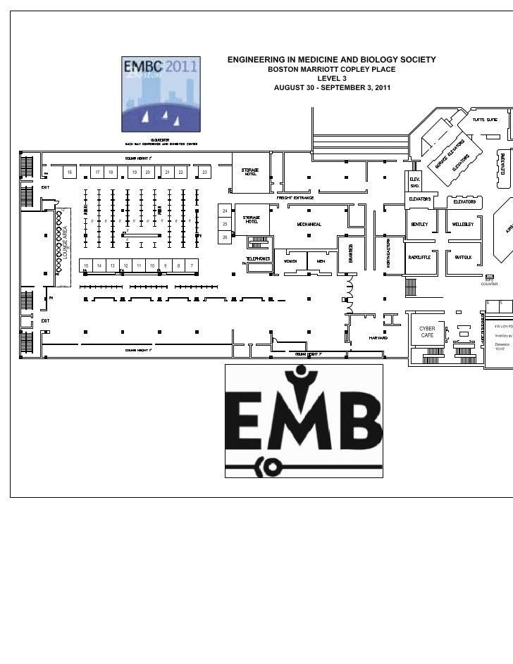 20110317 - EMBC 2011 - 3rd & 4th Floor Plans