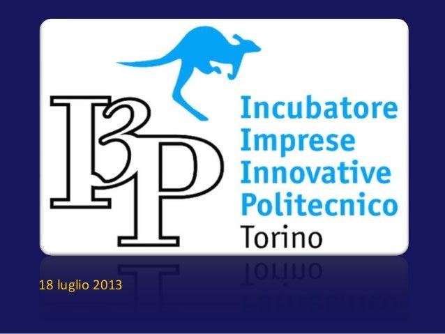 19 Luglio 2013 - Il futuro della TV - Marco Cantamessa - I3P