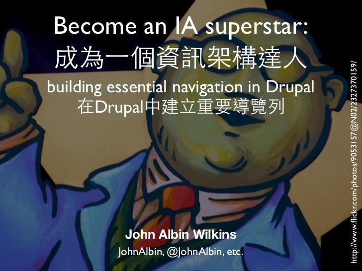 Become an IA superstar:                                          http://www.flickr.com/photos/9053157@N02/2327370159/buildi...