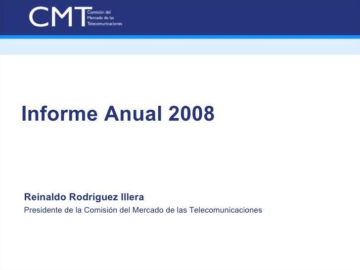 Informe anual 2008 CMT