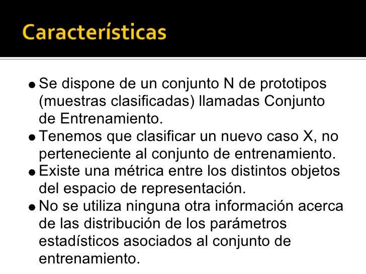 Ia2 Algoritmos Clasificacion Vecindad