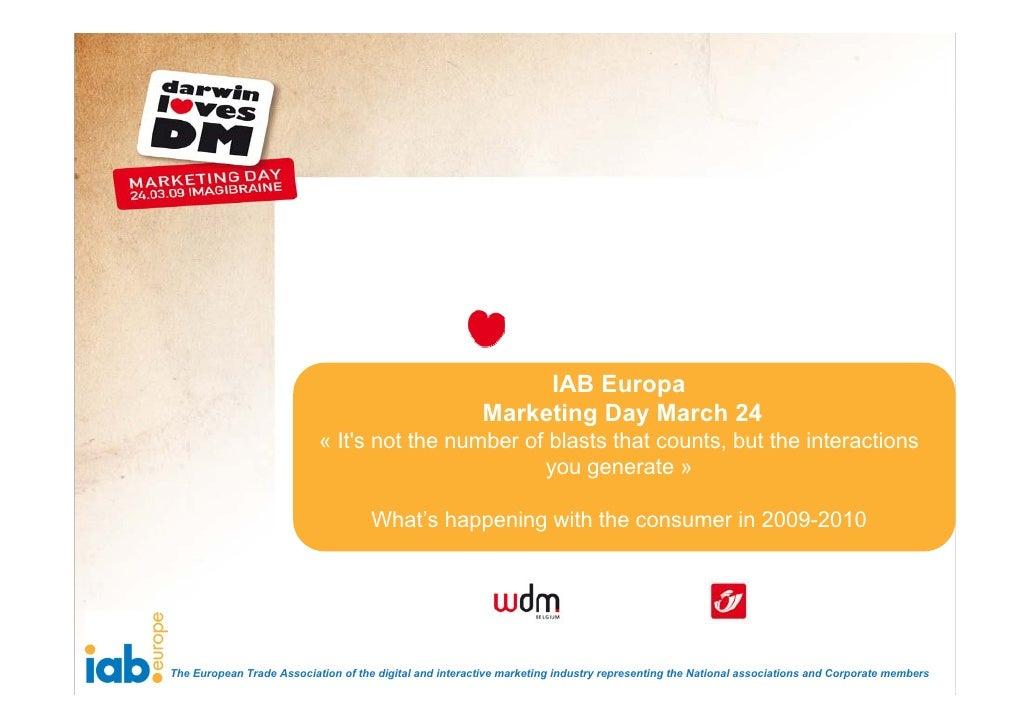 IAB Europa                                                           Marketing Day March 24                            « I...