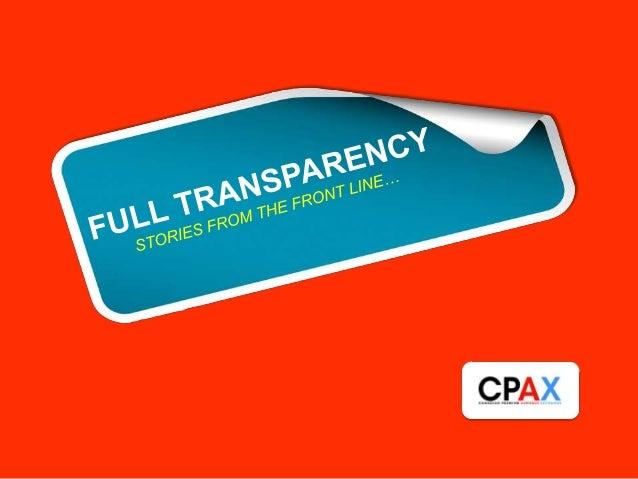 So, why CPAX?