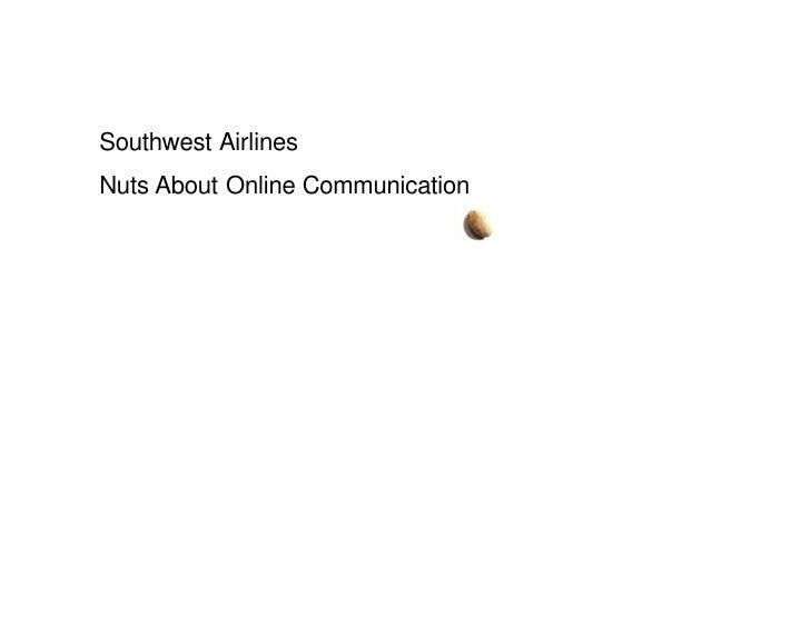 IABC/OC Southwest Airlines July2009