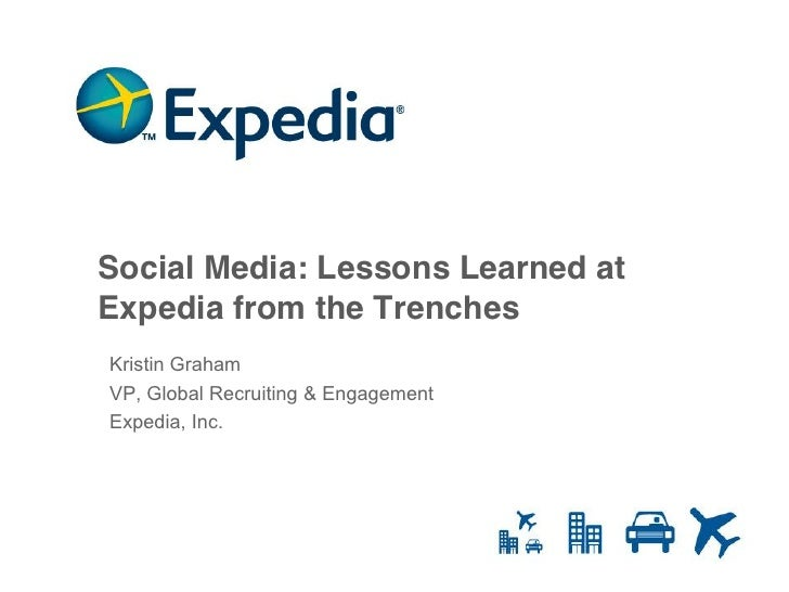 SMBSeattle/IABC Seattle: Expedia -Social Media Lessons Learned