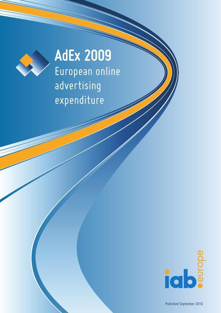 Iab europe ad ex 2009