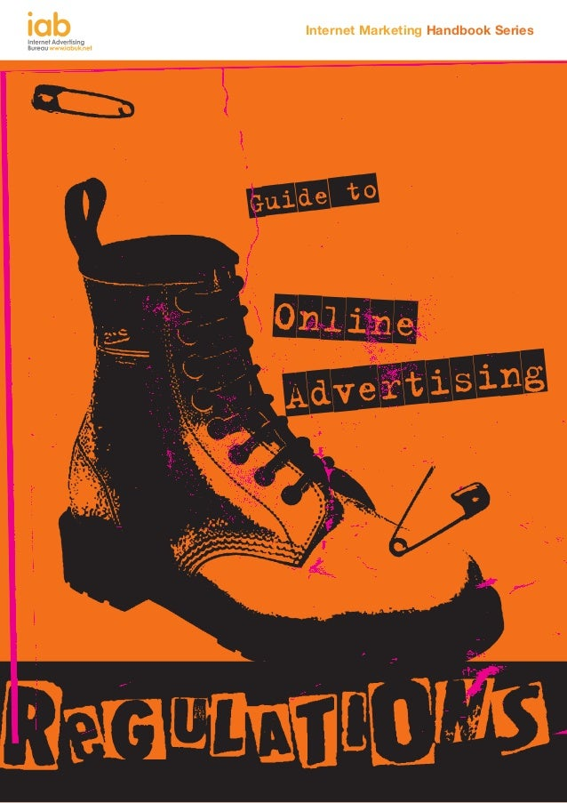 IAB Guide to online advertising regulations