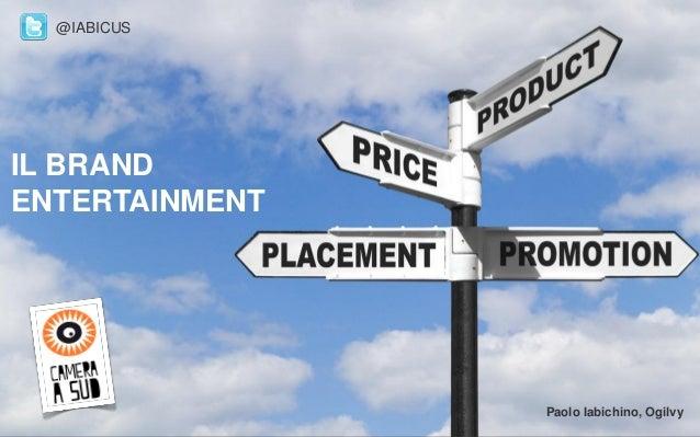 Ldb Branded Entertainment_Paolo Iabichino - Cos'é l'invertising