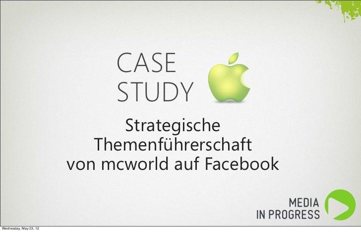 CASE                             STUDY                              Strategische                           Themenführersch...