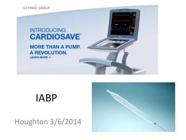 IABP Houghton 3/6/2014