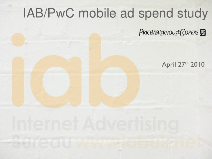 IAB Review of UK Mobile Ad Spend 2009