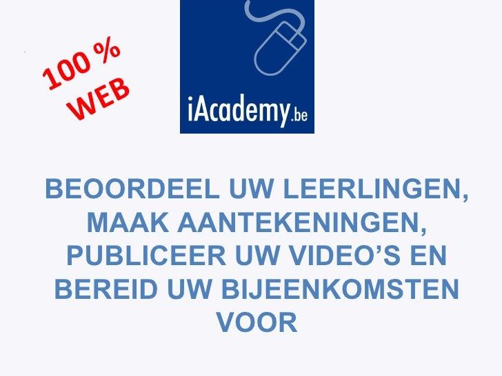 I Academy COACH Nl