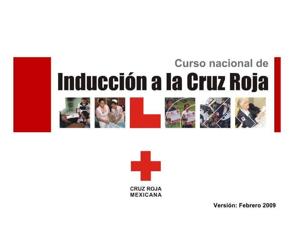 Induccion a Cruz Roja 1
