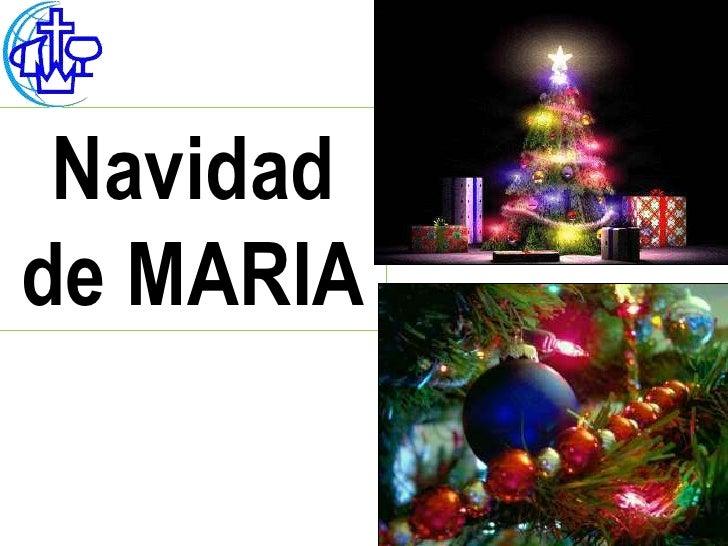 Navidadde MARIA