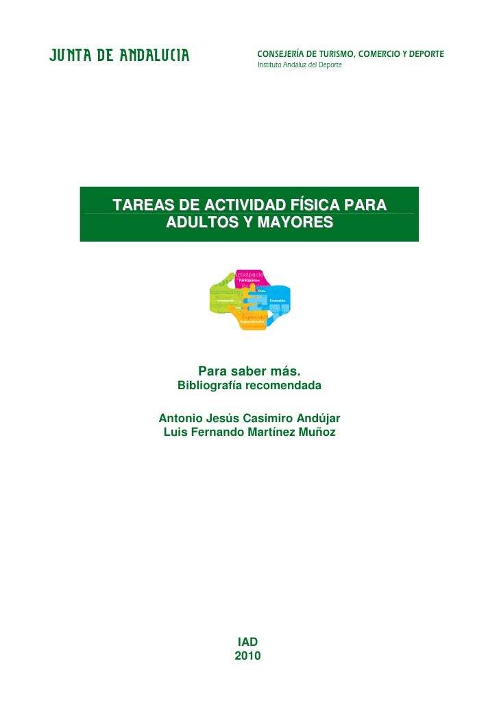 JUNTA DE ANDALUCIA            CONSEJERÍA DE TURISMO, COMERCIO Y DEPORTE                              Instituto Andaluz del...