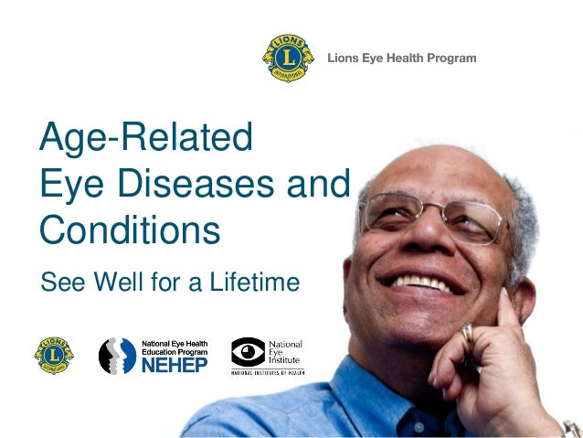 LEHP - Age-Related Eye Diseases and Conditions