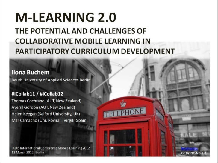 Mobile Learning 2.0