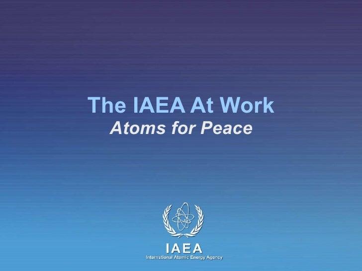 IAEA Presentation