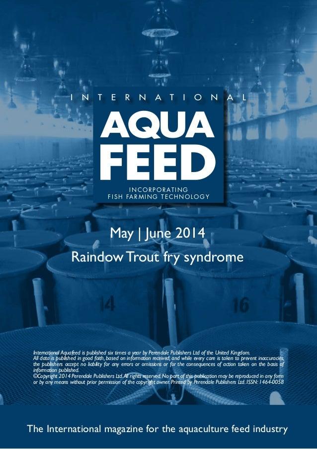 Raindow Trout fry syndrome