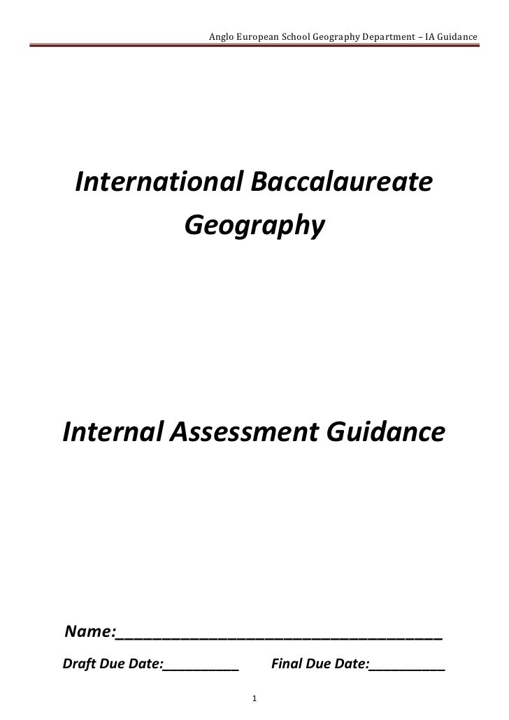 IA Guidance Booklet