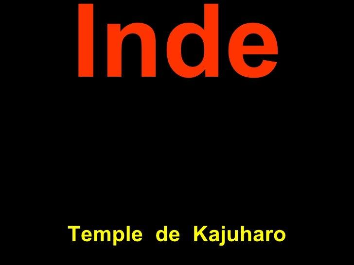 Inde Temple  de  K ajuharo
