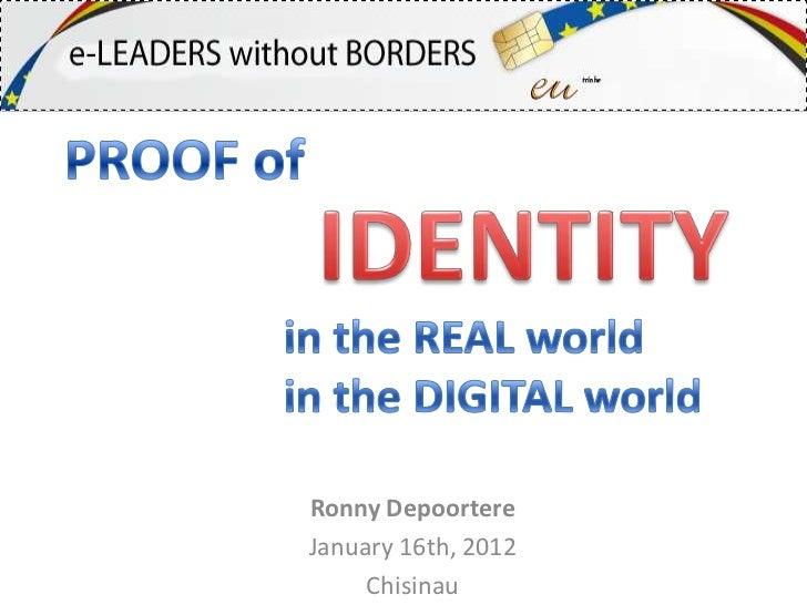 Ronny DepoortereJanuary 16th, 2012     Chisinau