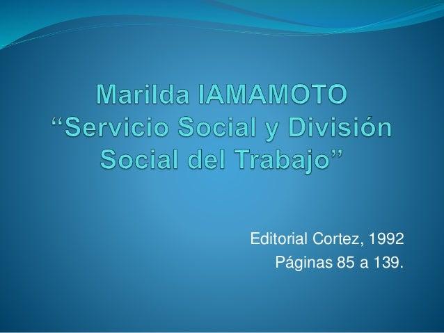 Editorial Cortez, 1992 Páginas 85 a 139.