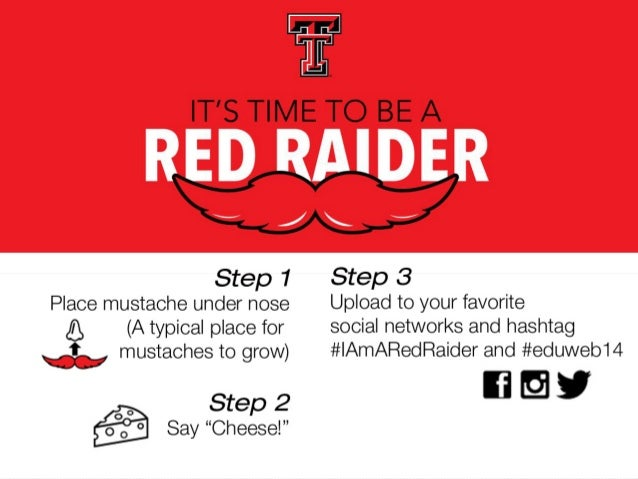 I Am A Red Raider: A Marketing Campaign Designed with Engagement in Mind
