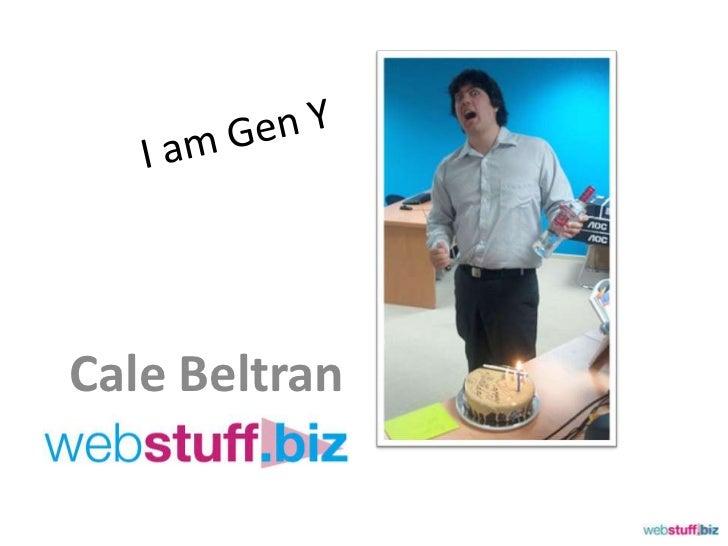 I am gen y