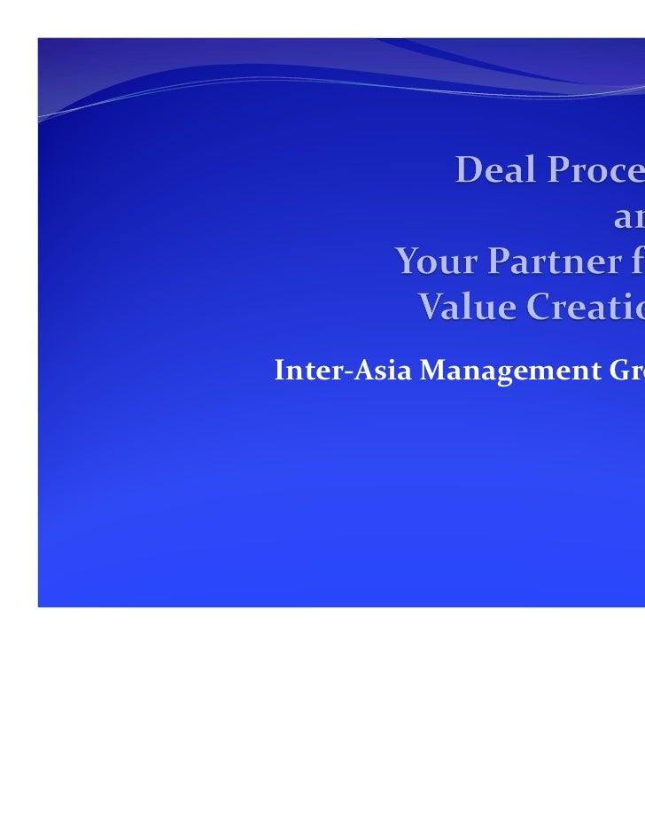 Inter-Asia Management Group