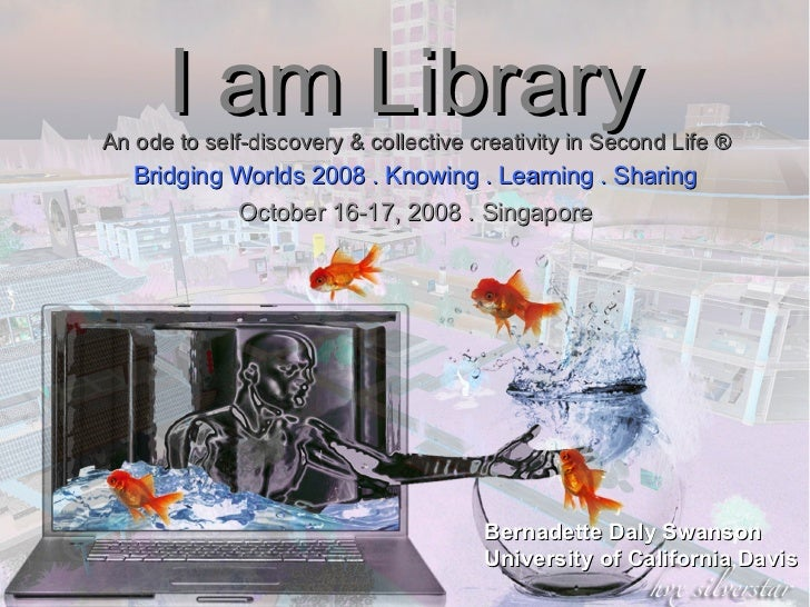 I am Library: an ode to self-discovery and collective creativity in Second Life ®