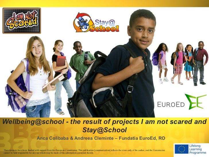 I am not scared & Stay@school presentation fundatia euro_ed