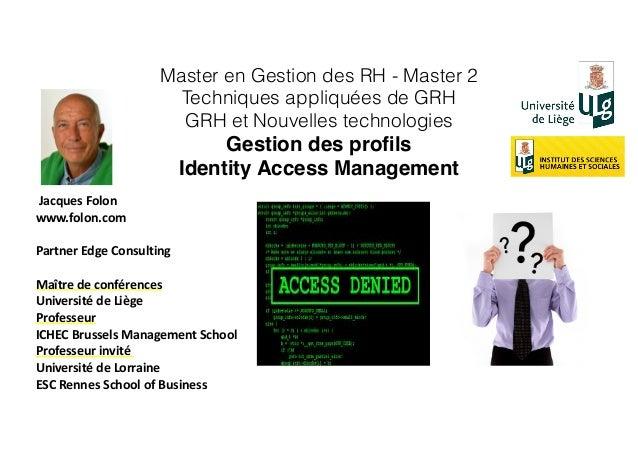 Jacques  Folon   www.folon.com   Partner  Edge  Consulting   Maître  de  conférences     Université ...