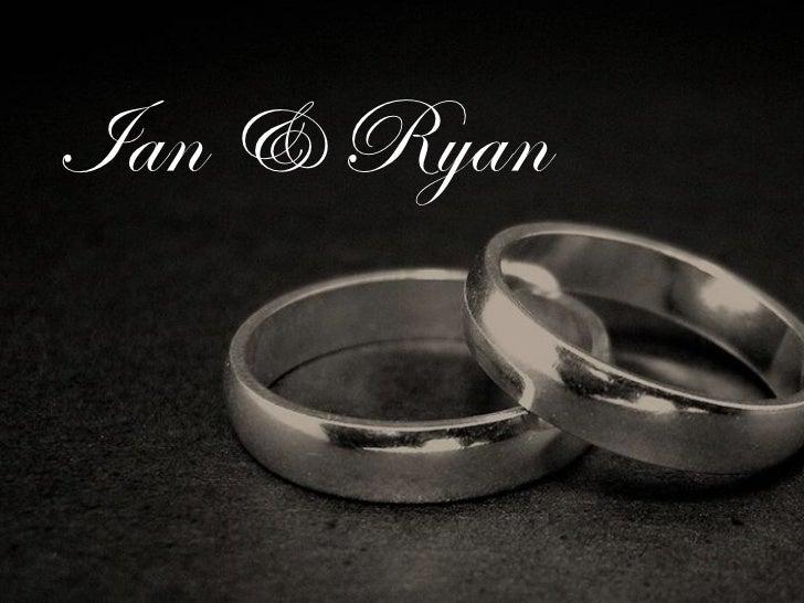 Ian and Ryan