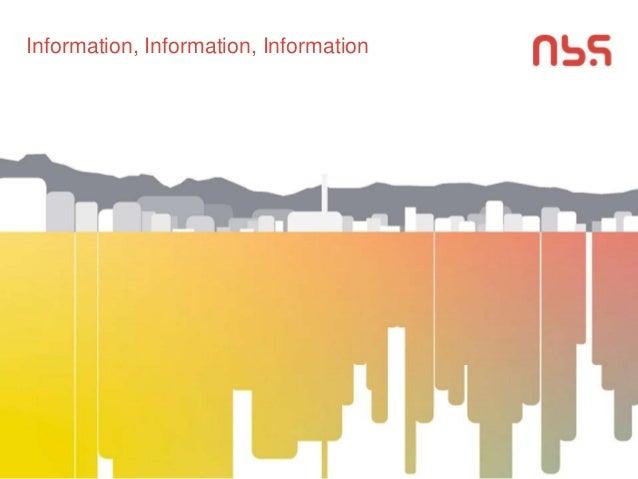 Information, Information, Information