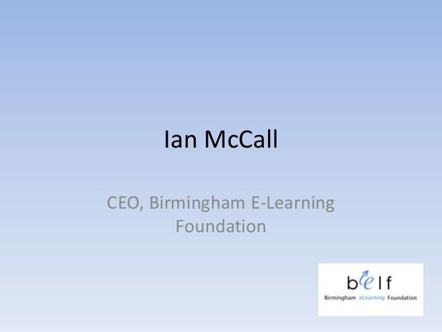 Birmingham eLearning Foundation (BeLF)