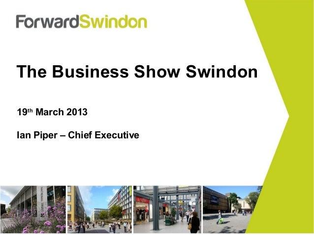 Ian Piper, Forward Swindon