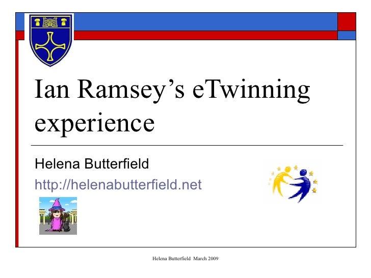Ian Ramsey's eTwinning Experience