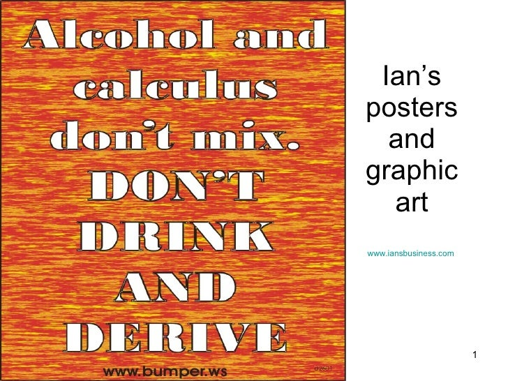 Ian's posters and graphic art www.iansbusiness.com