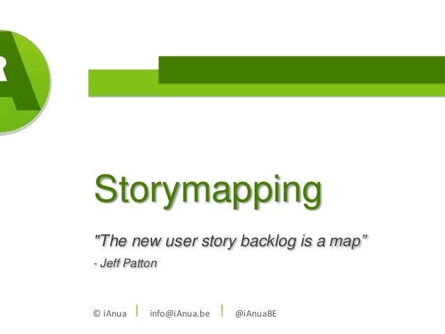iAnua storymapping session @ ilean