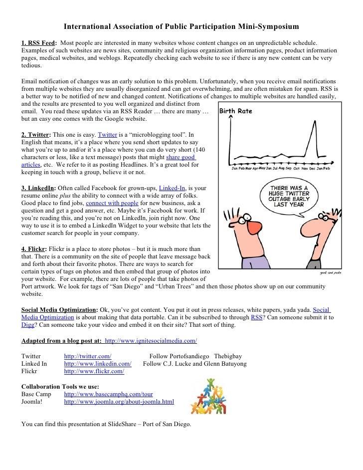 International Assoc. of Public Participation Notes