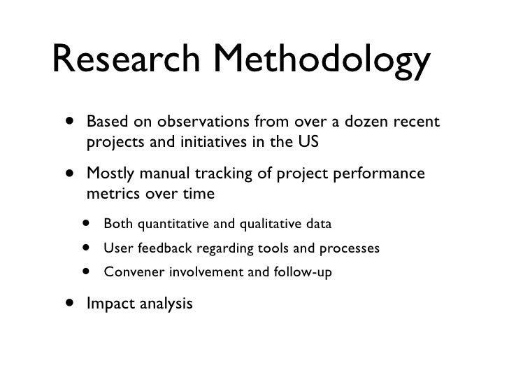 How to write a methodology for a dissertation